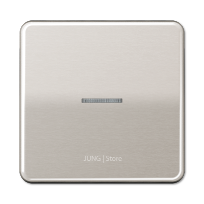 CD500 Клавиша 1-ная с линзой, платин.