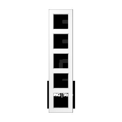 Jung A550 - Рамка 5-ая, цвет белый