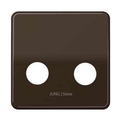 CD500 Накладка TV/FM, коричневая
