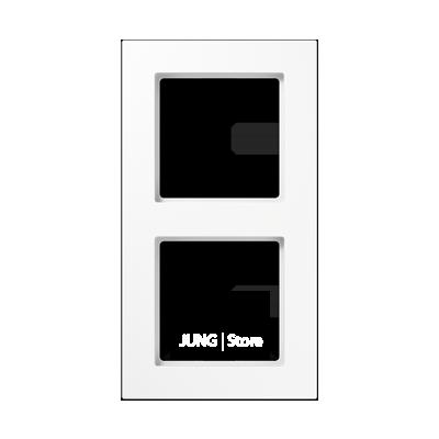 Jung A550 - Рамка 2-ая, цвет белый