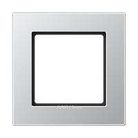 Jung A550 - Рамка 1-ая, цвет алюминий