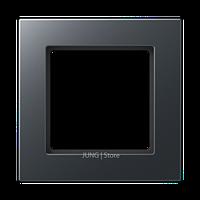 Jung A550 - Рамка 1-ая, цвет антрацит