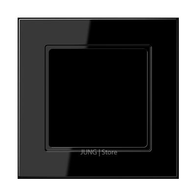 Jung A550 - Рамка 1-ая, цвет черный