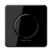 CD500 Накладка на мех-зм поворотн. диммера и потенциом., черная