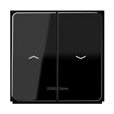 CD500 Клавиша 2-ная со стрелками вверх/вниз, чёрн.