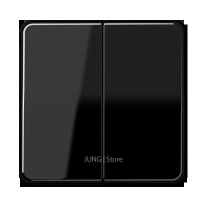 CD500 Клавиша 2-ная, чёрн.