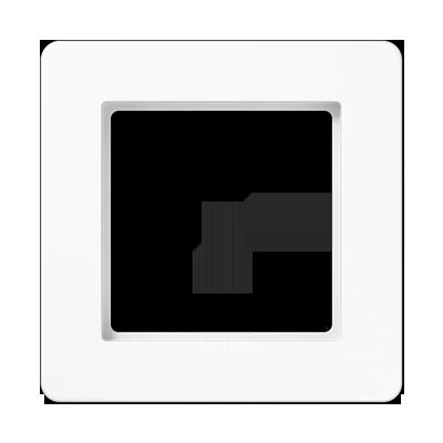 Jung A Flow - Рамка 1-ая, цвет белый
