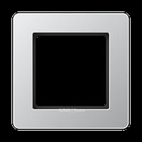 Jung A Flow - Рамка 1-ая, цвет алюминий