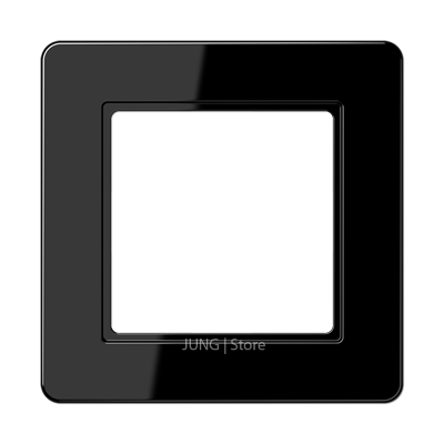 Jung A Flow - Рамка 1-ая, цвет черный