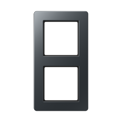 Jung A Flow - Рамка 2-ая, цвет антрацит