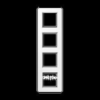 Jung A Flow - Рамка 4-ая, цвет белый