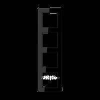 Jung A Flow - Рамка 4-ая, цвет черный