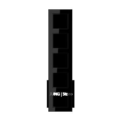 Jung A Flow - Рамка 5-ая, цвет черный