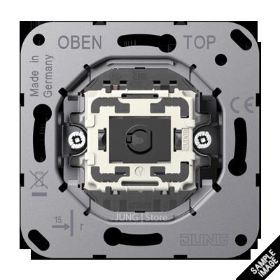 Механизм серии LS1912 одноклавишный, кнопочного типа, крепление винтами, без монтажных лапок