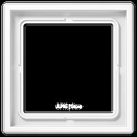 LS990 Рамка 1-ная, бел.