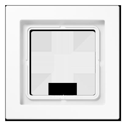LSDesign Рамка 1-ная, бел.