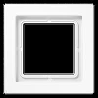 LSDesign Рамка 1-ная, термопласт бел.