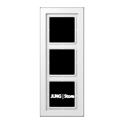 LSDesign Рамка 3-ная, бел.