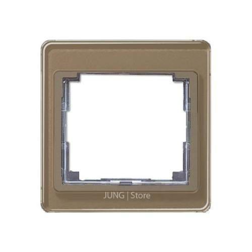 SL500 Рамка 1-ная, бронза