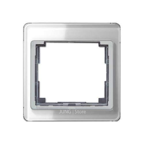 SL500 Рамка 1-ная, серебро