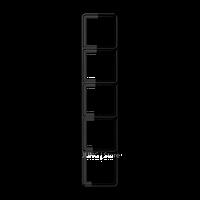 CD500 Рамка 5-ная, черн.