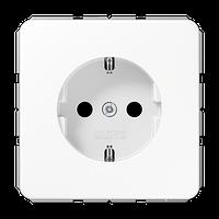 CD500 Розетка 2К+З 16А 250В~, бел.