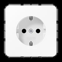 CD500 Розетка со шторками ударопрочн. 2К+З 16А 250В~, бел.