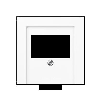 A500 Накладка ТАЕ для аудиорозеток и зарядного устр-ва USB, бел.