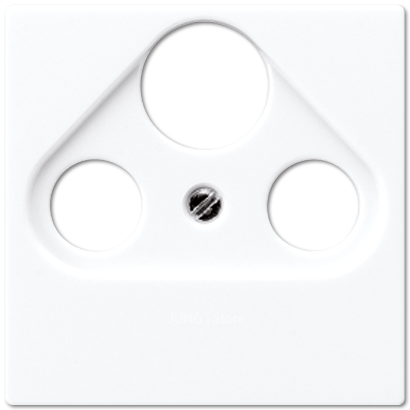 A500 Накладка TV/FM/SAT, бел.
