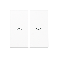 A500 Клавиша 2-ная со стрелками вверх/вниз, бел.