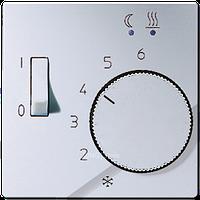 A500 Накладка для мех-зма терморегулятора пола FTR 231 U с выкл., алюм.