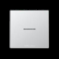 A500 Клавиша 1-ная с линзой, алюм.