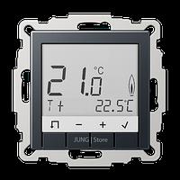 A500 Термостат комнатный, матовый антрацит