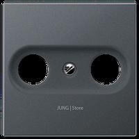 A500 Накладка TV/FM, матовый антрацит