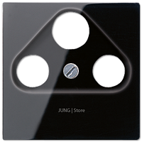 A500 Накладка TV/FM/SAT, чёрн.