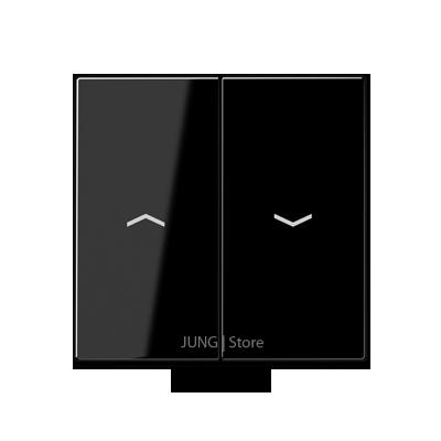 A500 Клавиша 2-ная со стрелками вверх/вниз, чёрн.