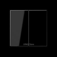A500 Клавиша 2-ная, чёрн.