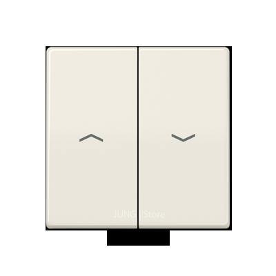 AS500 Клавиша 2-ная со стрелками вверх/вниз, беж.