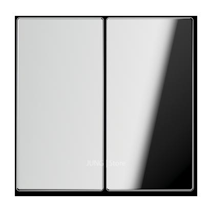 LSmetal Клавиша 2-ная, хром.