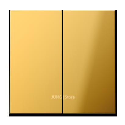 LSmetal Клавиша 2-ная, золот.
