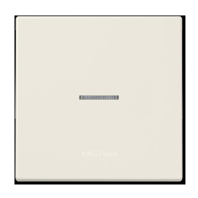 LS990 Клавиша 1-ная с линзой, беж.