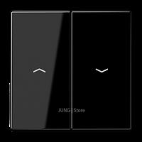 LS990 Клавиша 2-ная со стрелками вверх/вниз, чёрн.