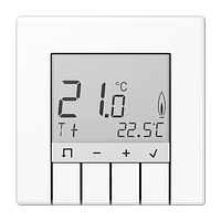 Комнатный контроллер с дисплеем «стандарт» бел.