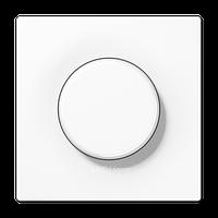 LS990 Накладка на мех-зм поворотн. диммера и потенциом., бел.