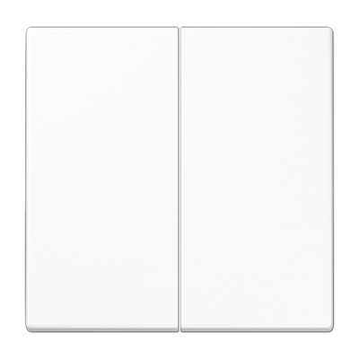 LS990 Клавиша 2-ная, бел.