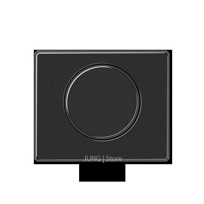 SL500 Накладка на мех-зм поворотн. диммера и потенциом., черн.