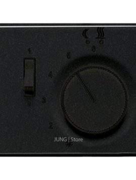 SL500 Накладка для мех-зма терморегулятора пола с выкл. FTR 231 U, чёрн.