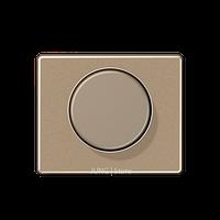 SL500 Накладка на мех-зм поворотн. диммера и потенциом., бронза