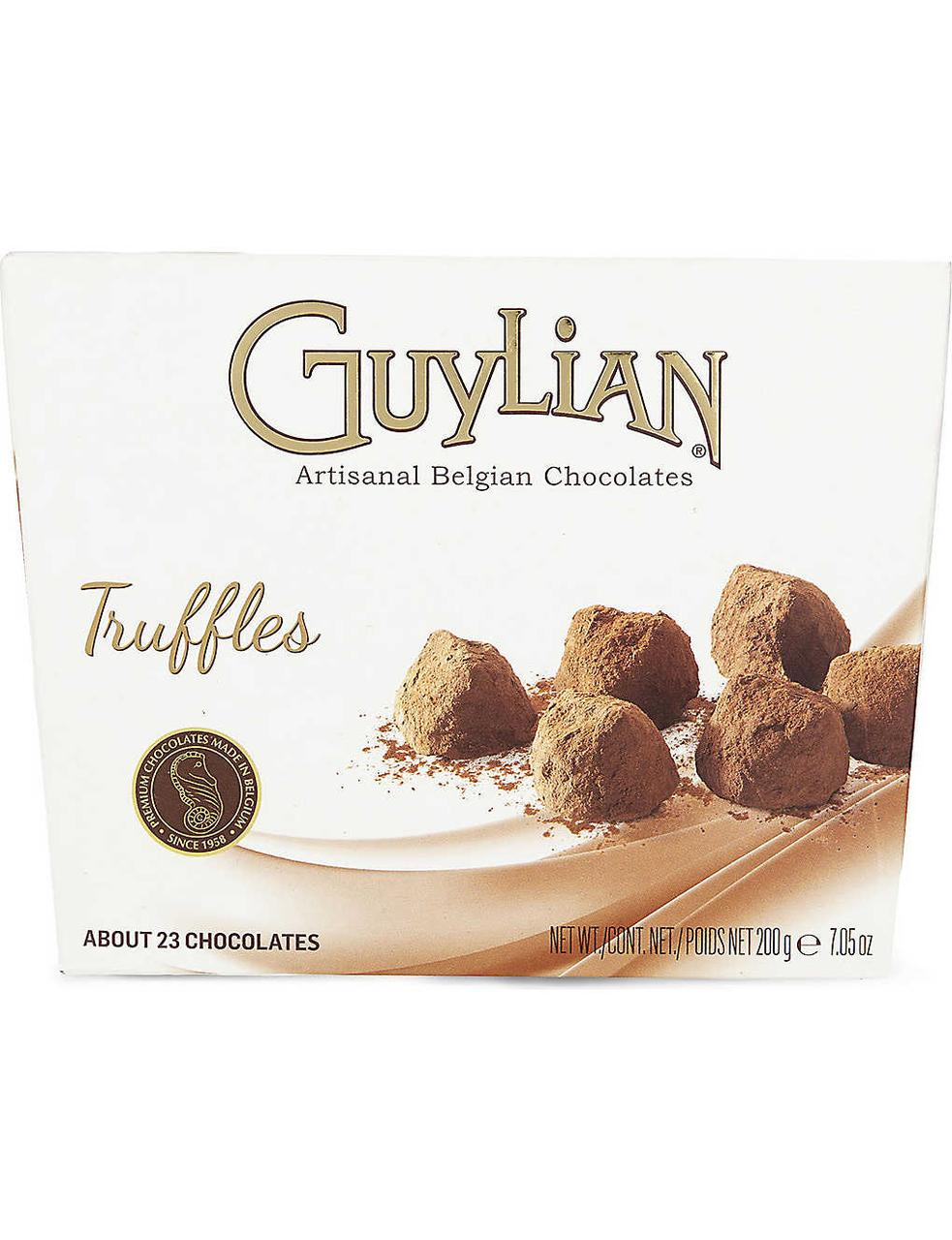 Guylian Truffles Трюфели 200гр.  (Бельгийский шоколад)