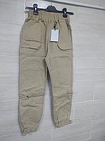 Джогеры с двумя накл.карманами Stba327, 46-48песочный